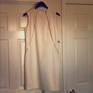 Calvin Klein Zipper Detail Dress